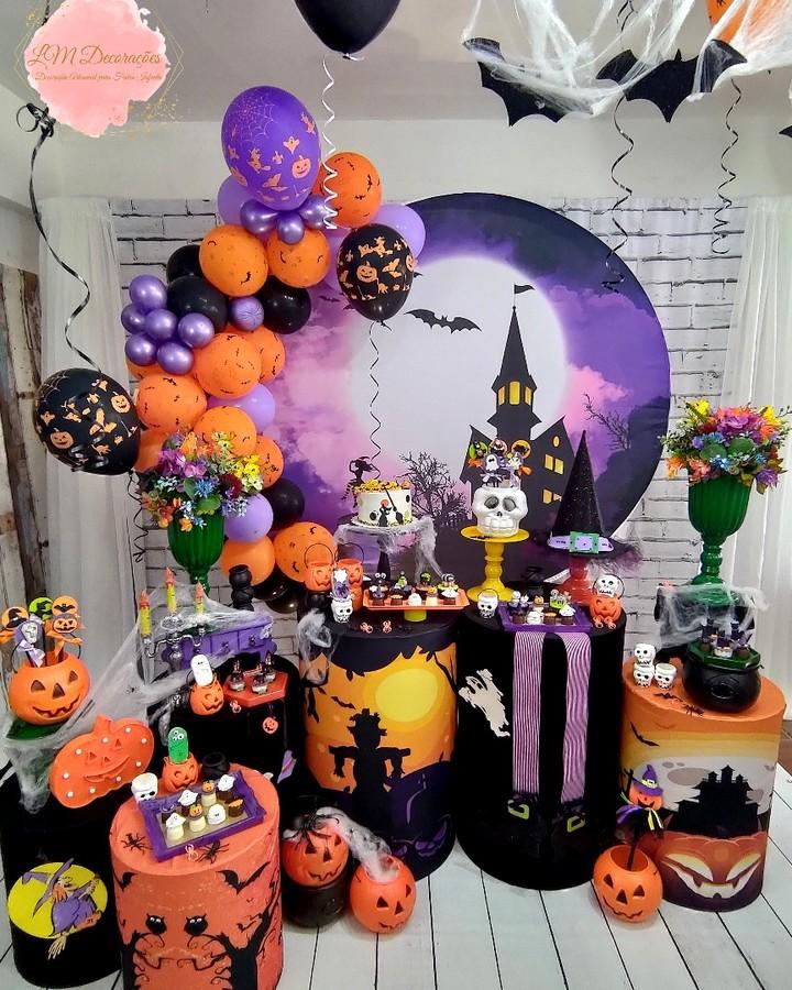 decoracao-de-festa-halloween-painel-redondo