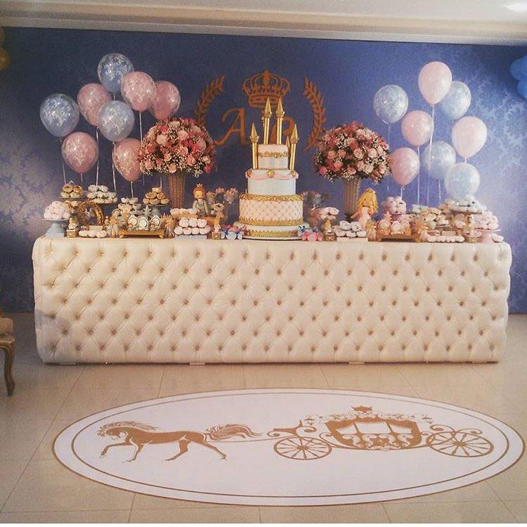ideias para festa príncipe e princesa