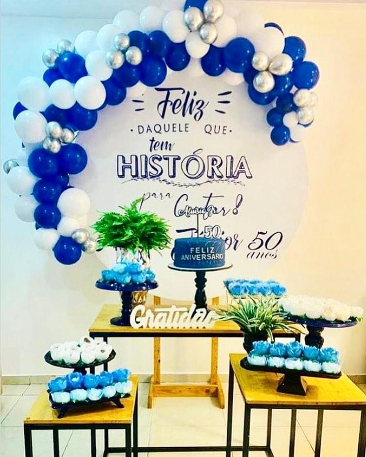 decoração no tema gratidão para festa de adulto