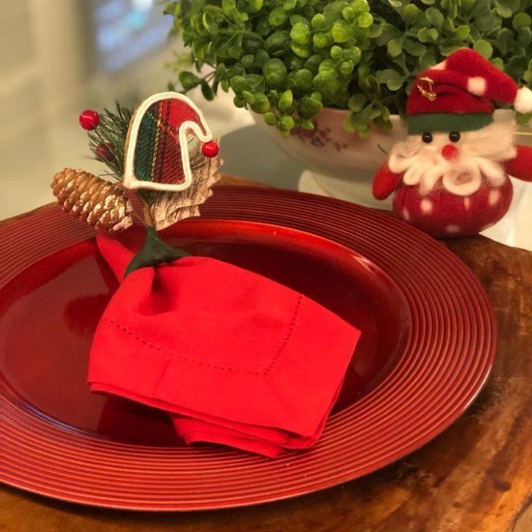 ideias para mesa natalina