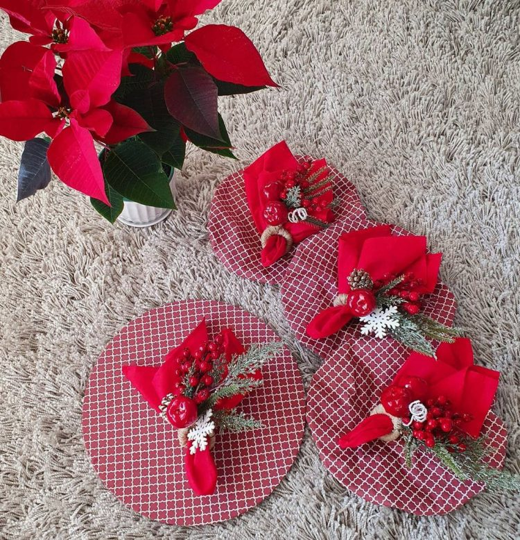 jogo natalino para mesa posta