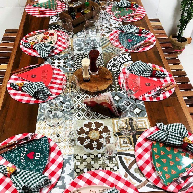 mesa para ceia de natal