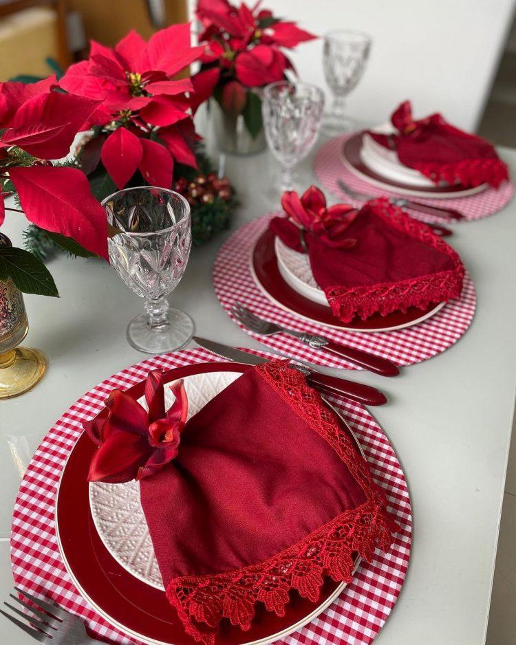 mesa decorada natal 2020