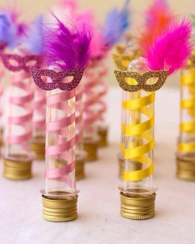 ideias com glitter para o carnaval