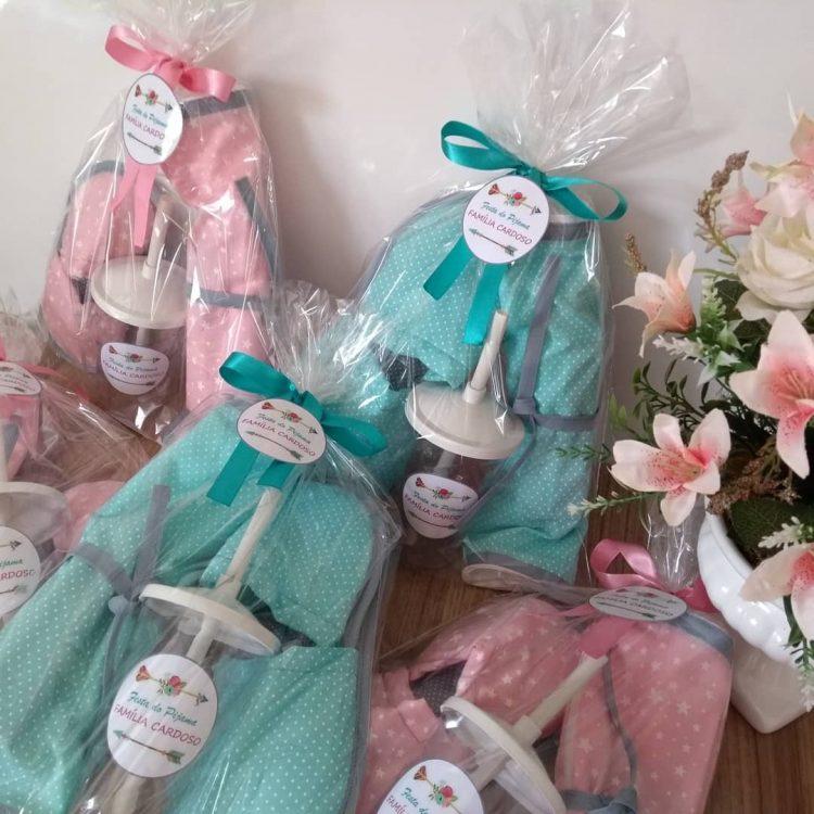 Kit higiene para festa do pijama