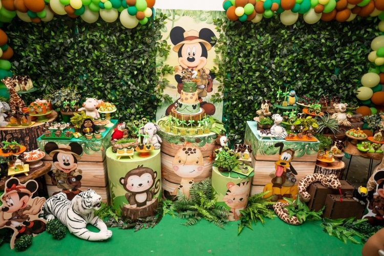 Festa safari do mickey