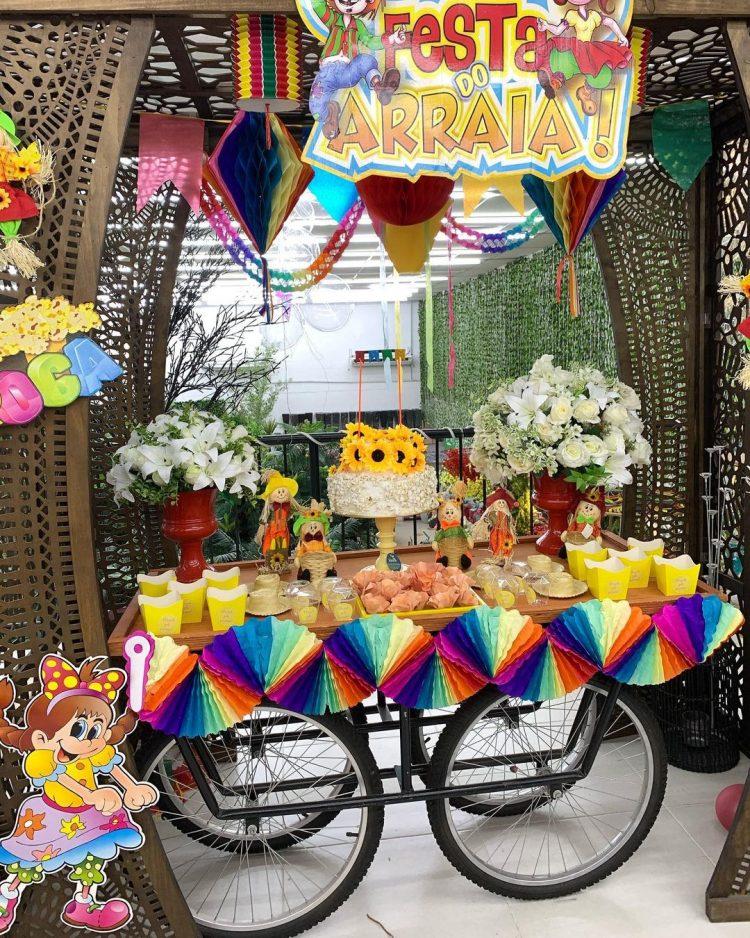 decoracao-de-festa-junina-no-carrinho