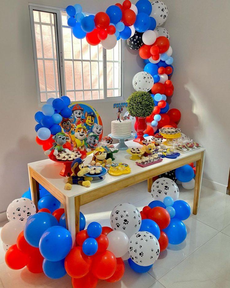 festa em casa para comemorar