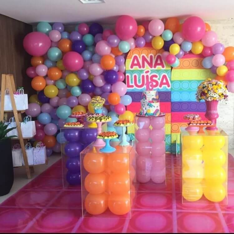 decoração-com-baloes-fidget-toys