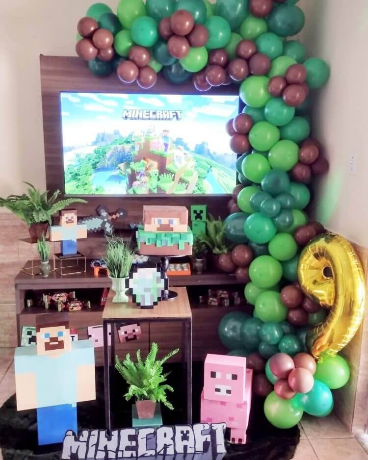 festa-infantil-minecraft